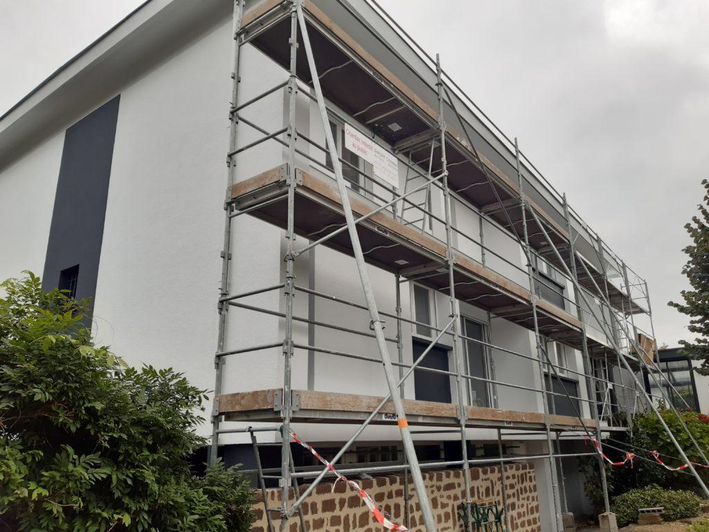 Rénovation de la façade d'un bâtiment par Dupont Christian dans le 49